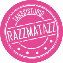 Pinkki logo Tanssistudio Razzmatazz